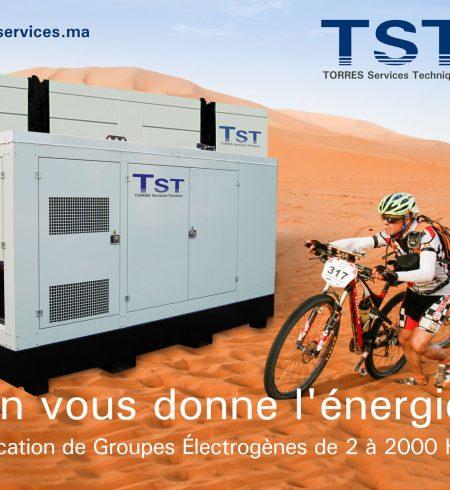 Nous fournissons toute l'énergie pour la course à vélo Titan Désert 2017