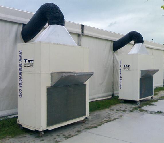 Équipements autonomes air conditionné