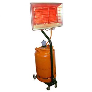 Poêles infrarouges pour le séchage 3C