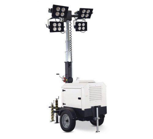 Tours d'éclairage extérieur avec projecteurs 290 W LED